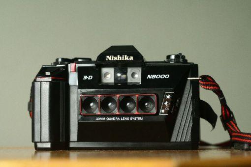 Nishika N8000 Lenticular Camera